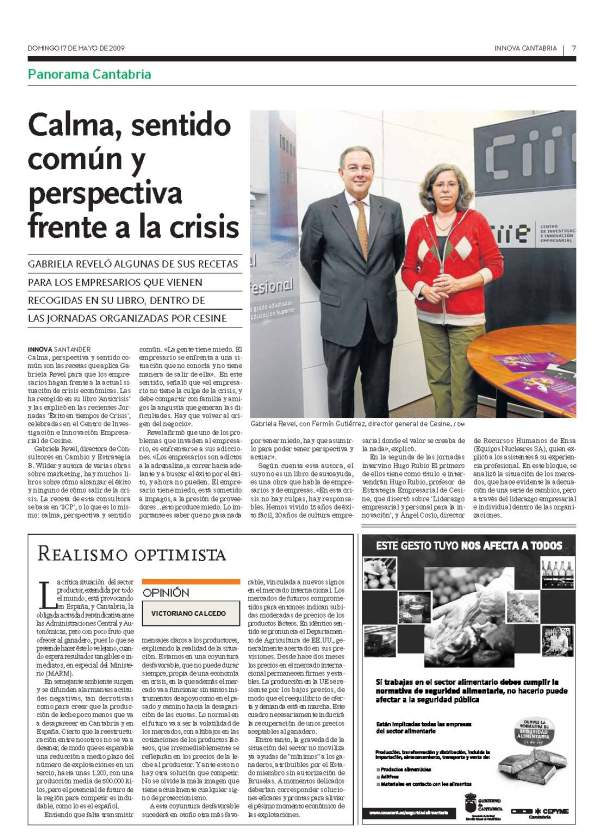 Entrevista G.Revel El Diario Montañés
