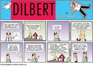 dilbert y Six Sigma